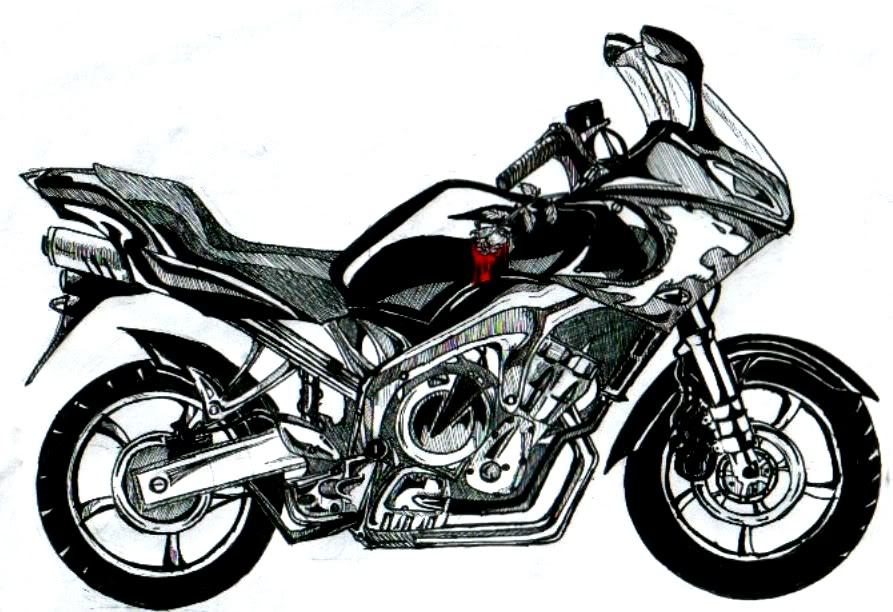 Resident Evil Stats Motorcycle_by_Veenan