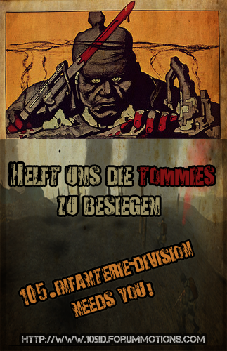 105th Infanterie-Division - 105.ID Home 105_poster-1