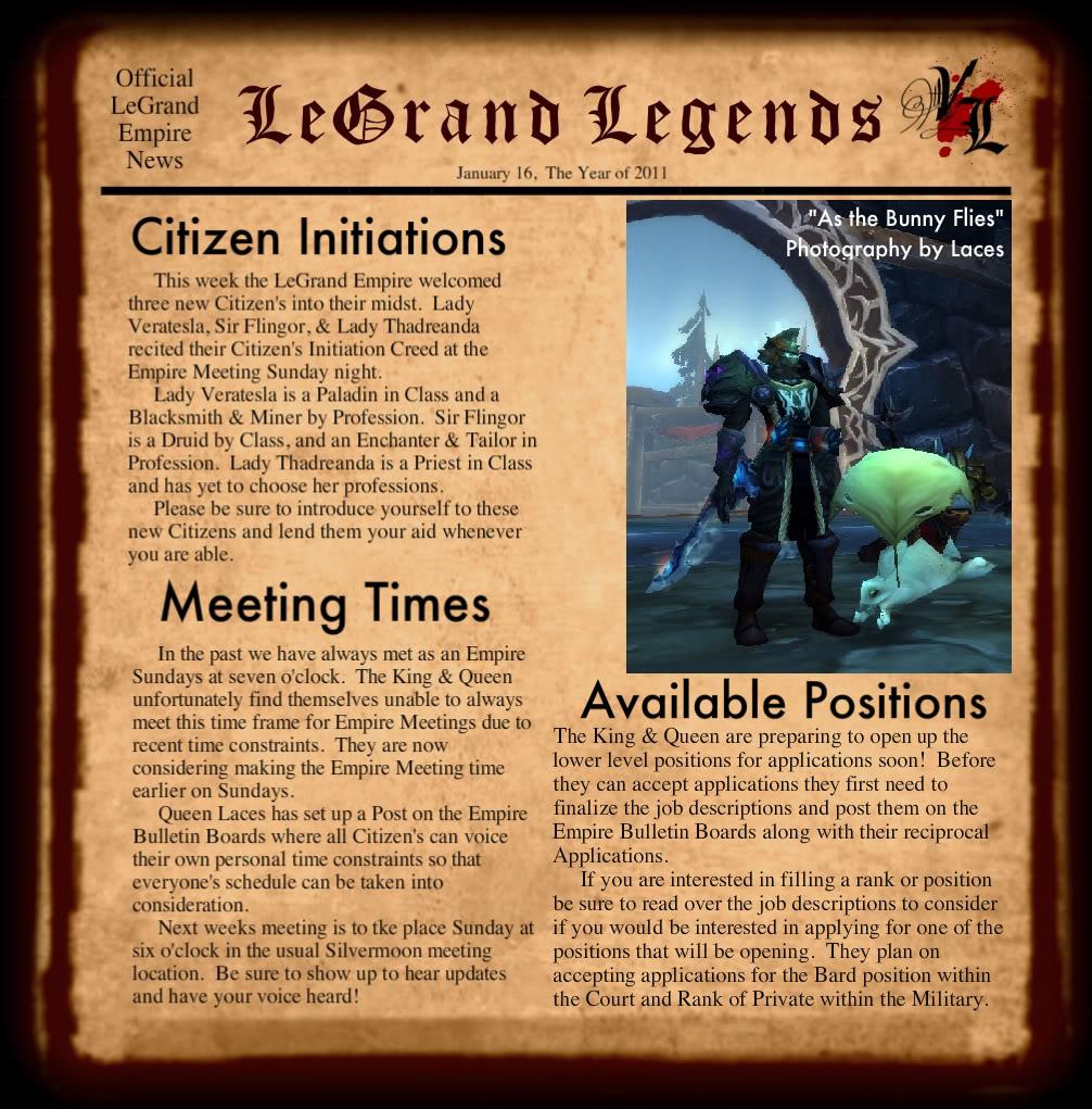 LeGrand Legends 1162011-1