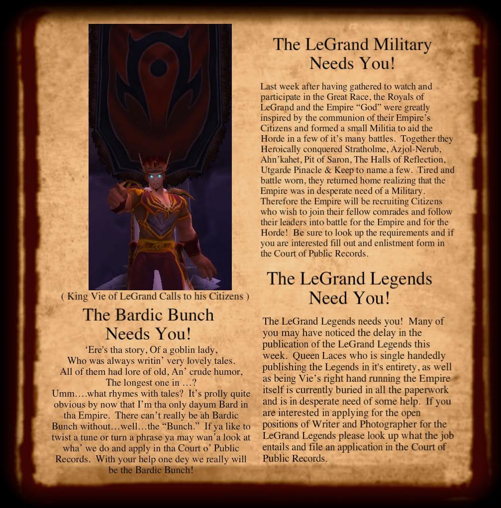 LeGrand Legends 210113-1