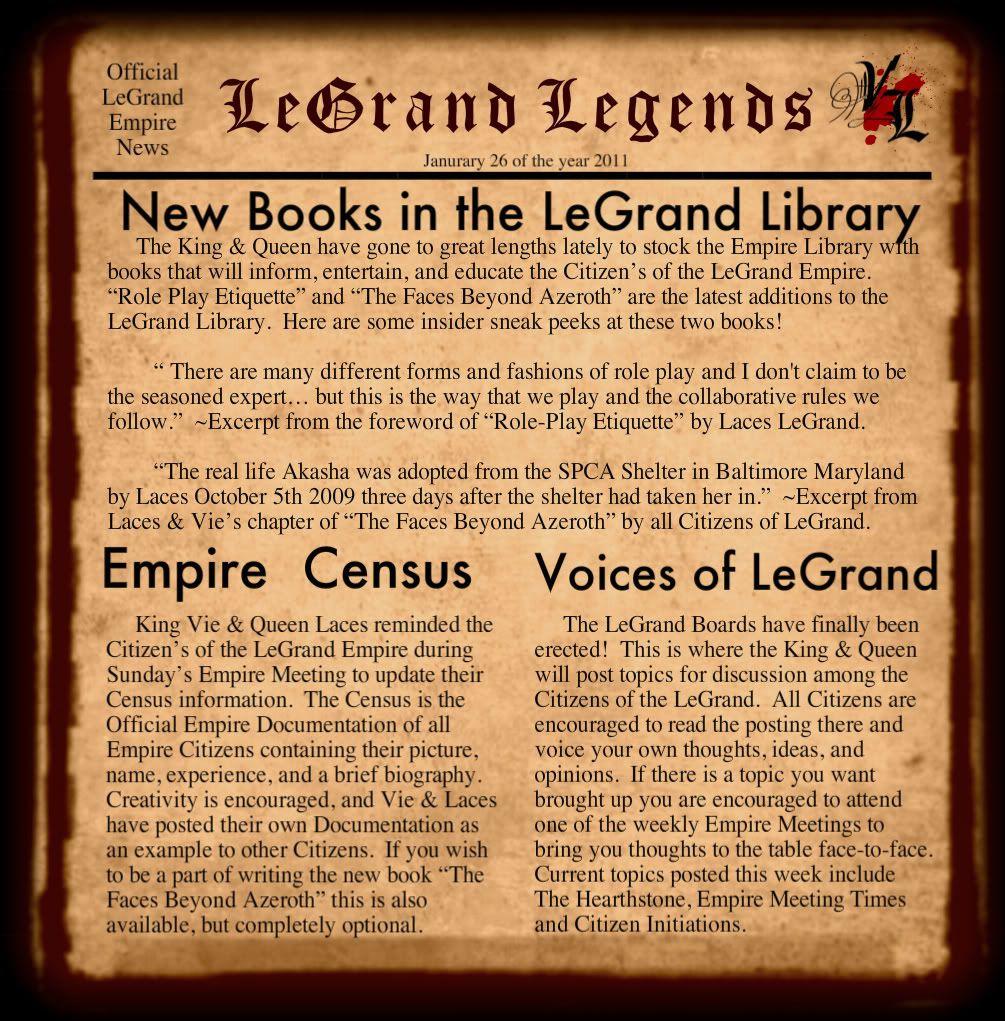 LeGrand Legends Parchment-1-1-2