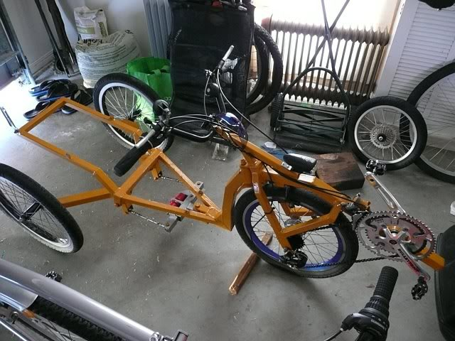 Jettrike : modifications Frame