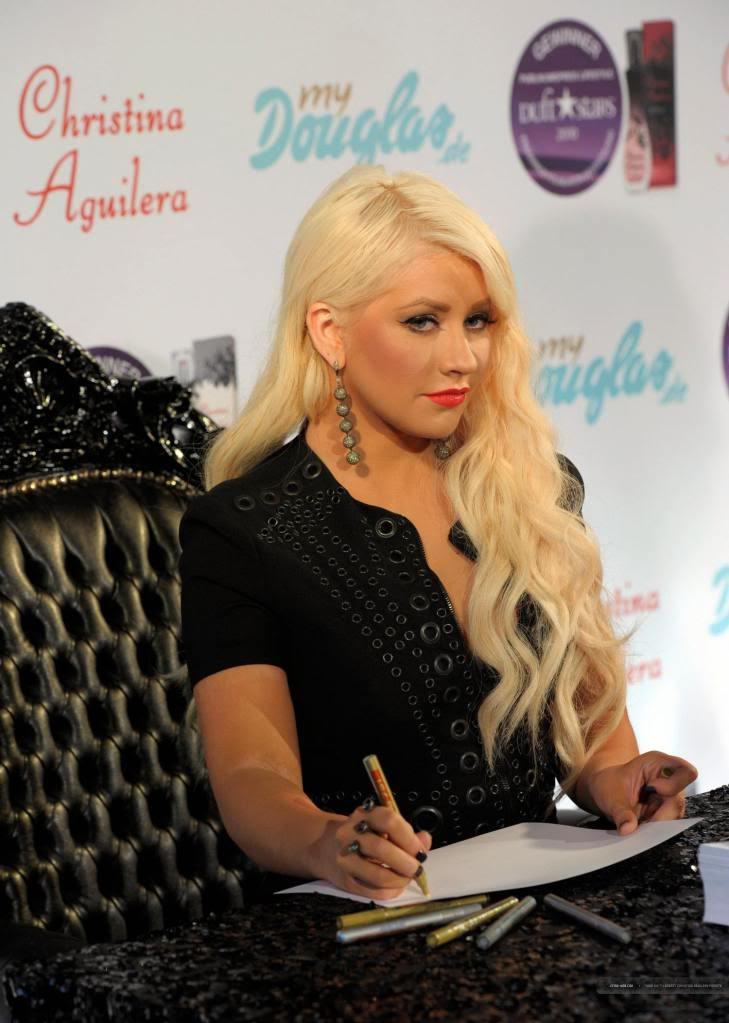 "Xtina ""Secret Potion"" Fragrance Munich Launch [HQ] 41"