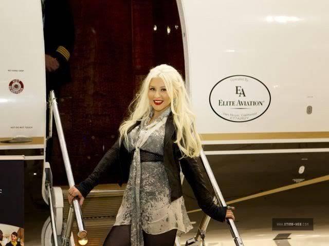 Christina at Elite Aviation's Night of Luxury 03