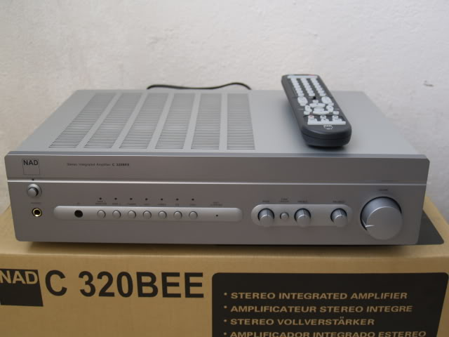 NAD C320BEE integrated amp (Used) SOLD