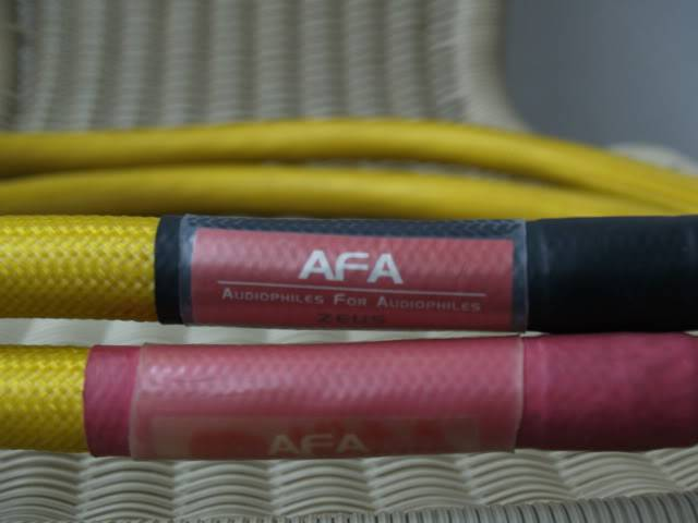 AFA Zeus interconnects (Used) SOLD _1010243