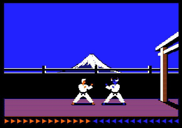 Mémoire vive Karateka_screen