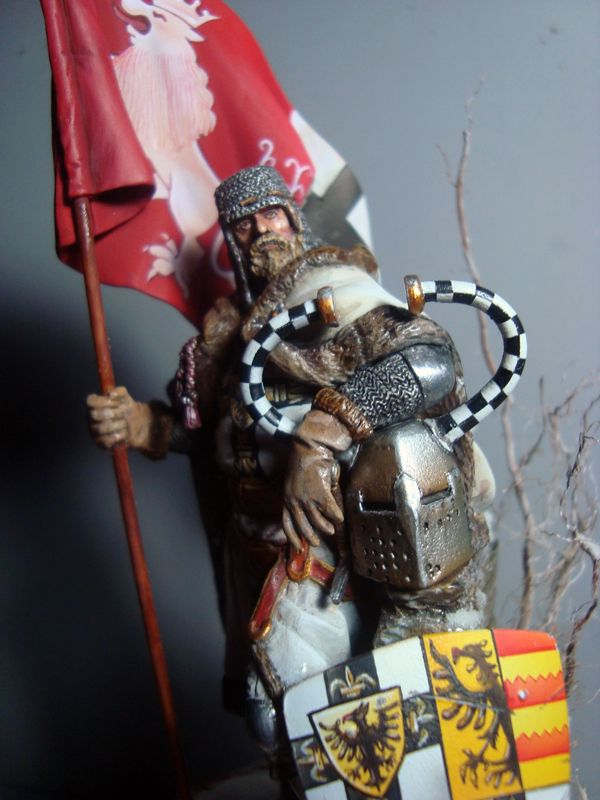 FIGURA TEUTONIC 75mm - Generica Red Coat DSC07543