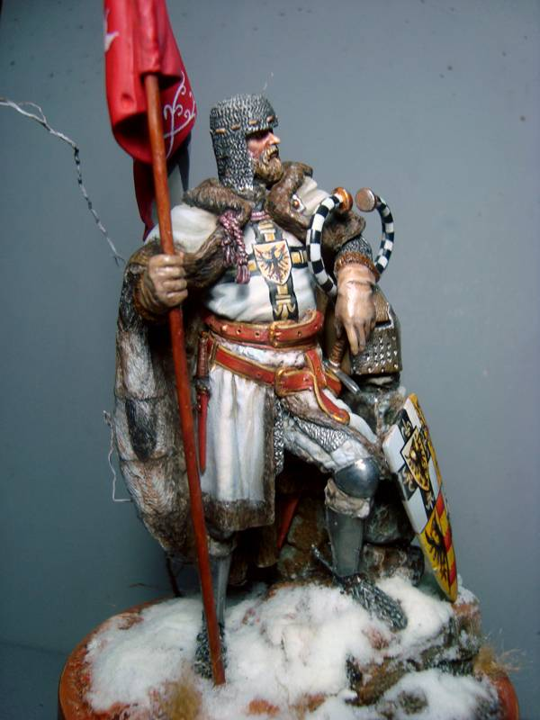 FIGURA TEUTONIC 75mm - Generica Red Coat DSC07547