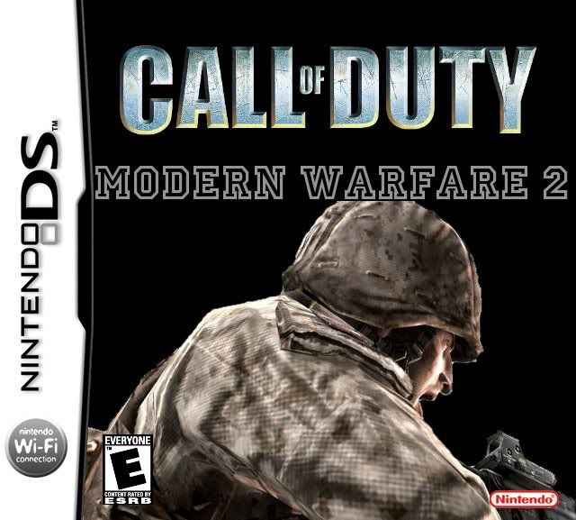 The Games(In Order) Codmodernwarfare2cover