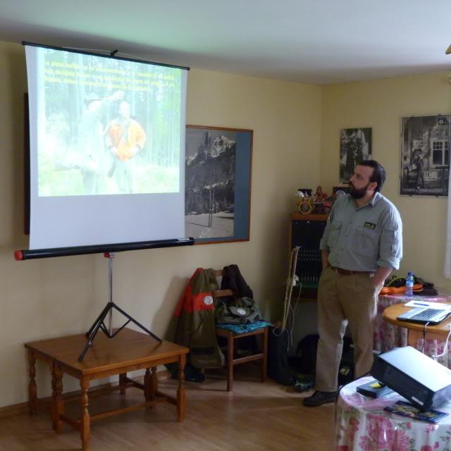 Seminario de AEPES en Huesca - Reservas de Caza P1000222