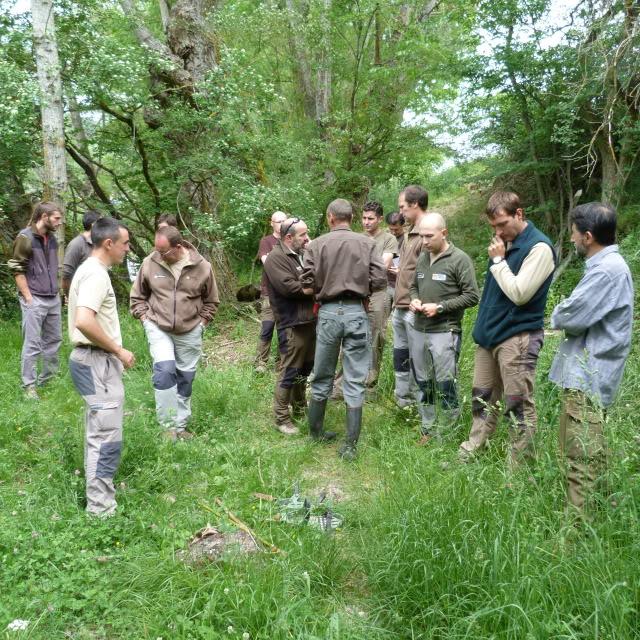 Seminario de AEPES en Huesca - Reservas de Caza P1000229