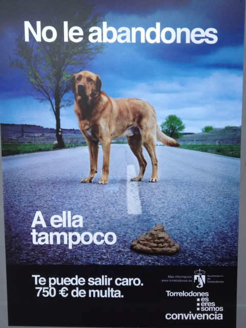 Ingeniosa campaña anti-caca Lafoto