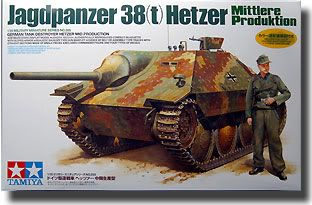 Mike's Build: 1/35 Tamiya Hetzer (Mid) Hetzer
