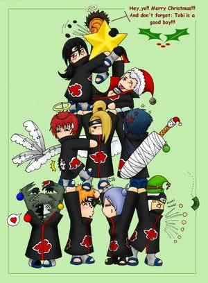 Funny Pic thread Akatsuki_Christmas_Three_x3_