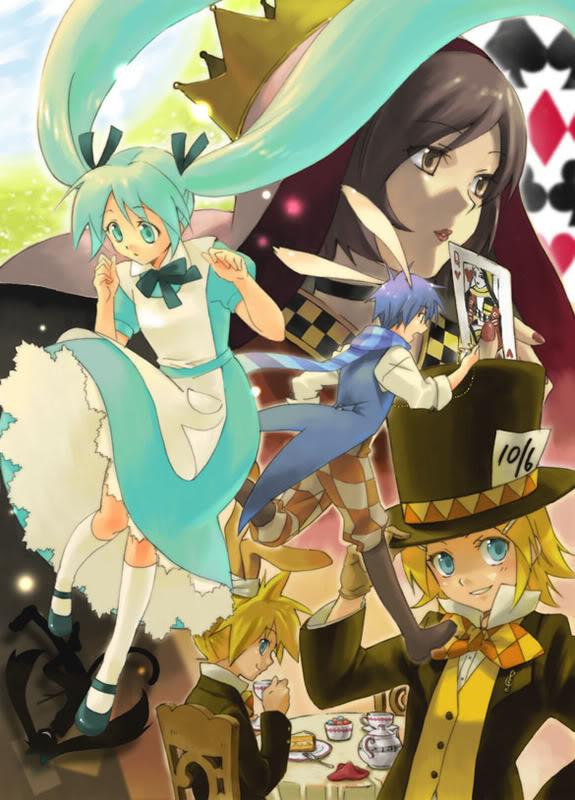 Alice au pays des merveilles FanArts. Vo_008_v5