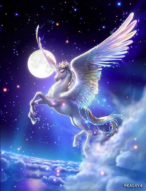 Сказочные картинки - Страница 2 Pegasus