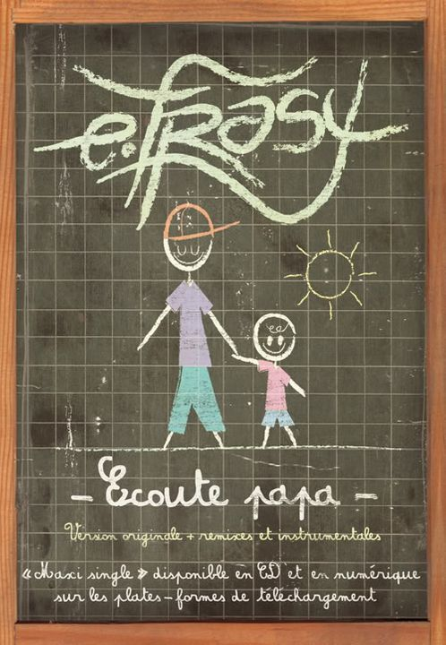 "E.FRASY - ""Ecoute Papa"" FlyerE"