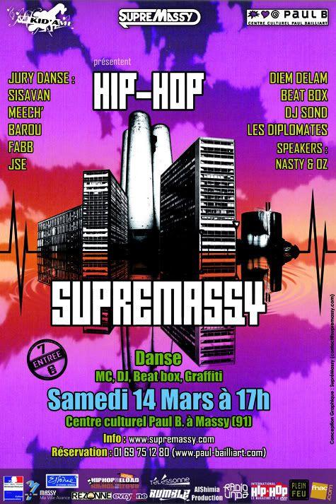 "Festival ""'Hip Hop SupreMassy"" (91) SupreMassy09au14MARS2009"