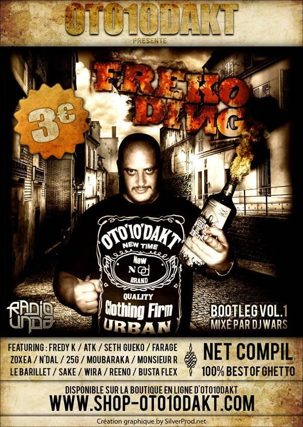 "FREKO DING - ""Bootleg Volume 1"" FlyerFREKODING-BootlegVolume1"