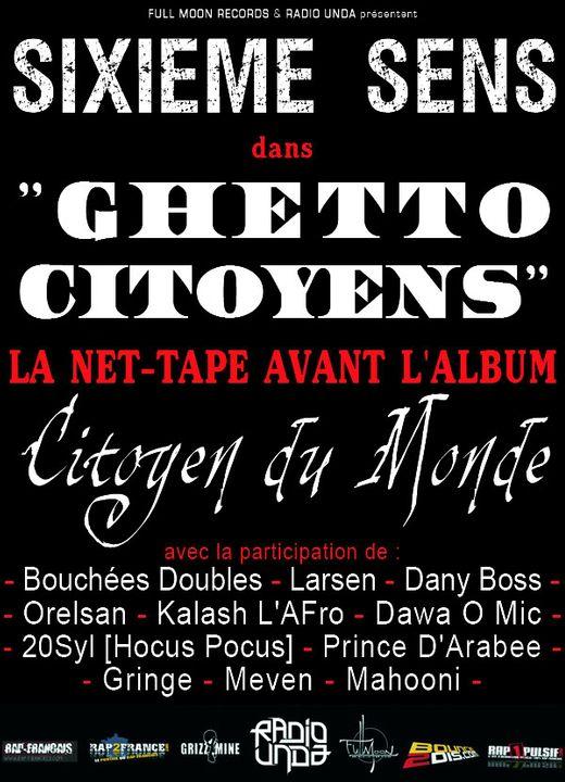 "SIXIEME SENS - ""Ghetto Citoyens"" PubSIXIEMESENS"