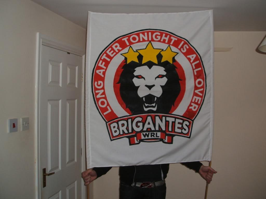 Rugby League Ultras - Wigan Brigantes DSCF1884