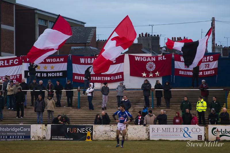 Rugby League Ultras - Wigan Brigantes Waversbarrow