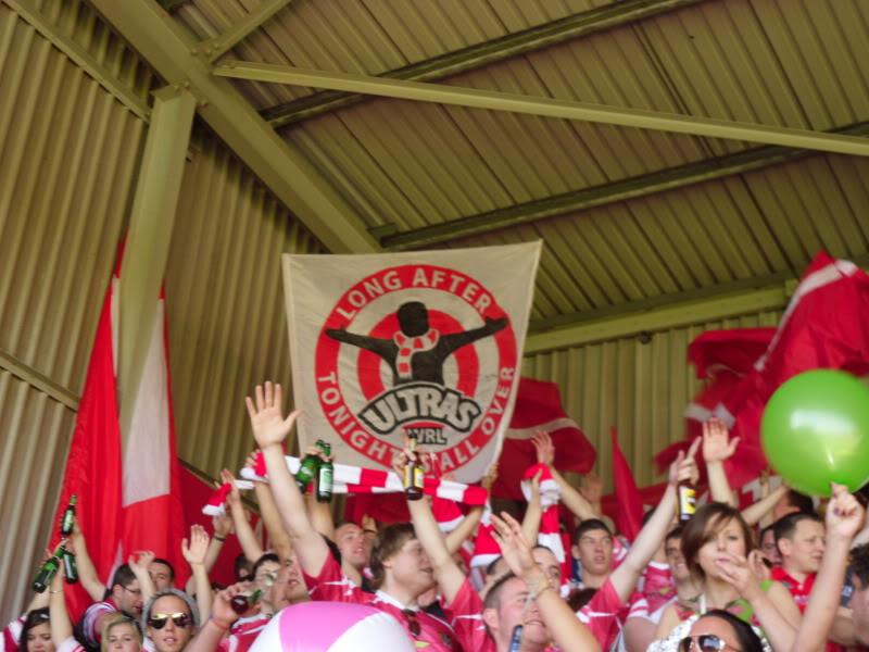 Rugby League Ultras - Wigan Brigantes Wrexham2