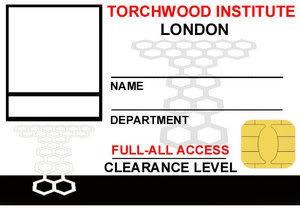 Tempalates TorchwoodIDCard