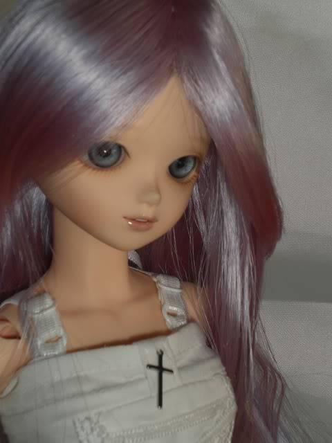 Algunas de mis fotos favoritas de Athena cuando llego. CIMG1690