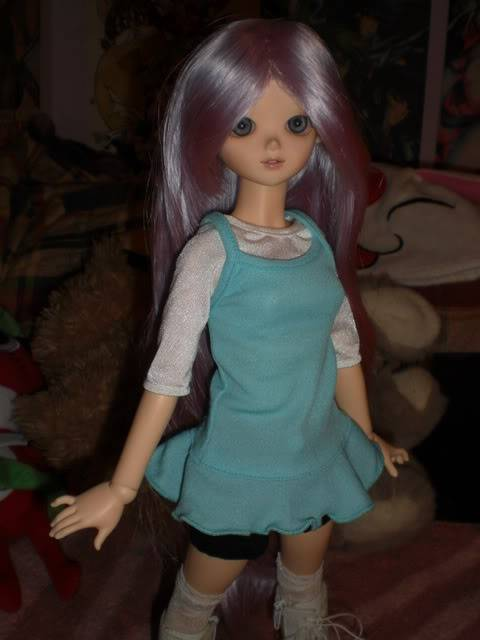 Algunas de mis fotos favoritas de Athena cuando llego. CIMG2169