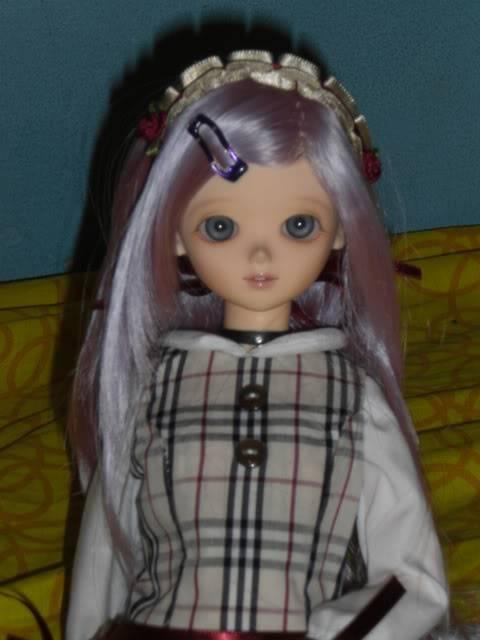 Algunas de mis fotos favoritas de Athena cuando llego. CIMG2587