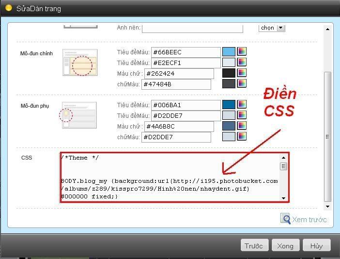 CSS là gì? - Cách chèn css vào Blog Plus Cssdd3
