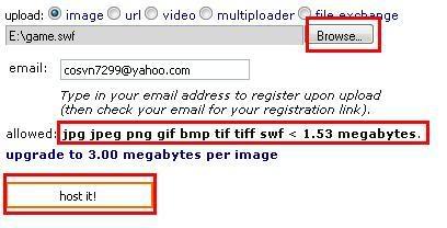 Chèn game flash vô Yahoo Plus Flash5-1