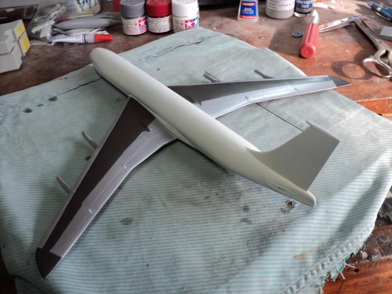 Boeing 707-320B Turbofan Apresenratção / Protótipo 1