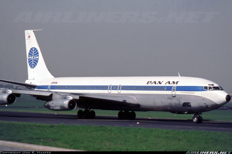Boeing 707-320B Turbo Fan Apresentação ! 10