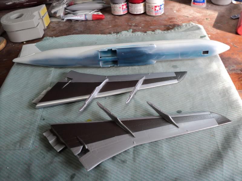 Boeing 707-320B Turbofan Apresenratção / Protótipo 3