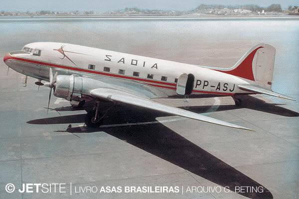DOUGLAS DC3 PP-ASJ-2