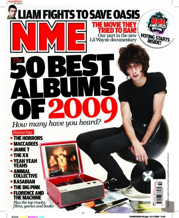 'Primary Colours', disco del año para el NME FARISNOMNME
