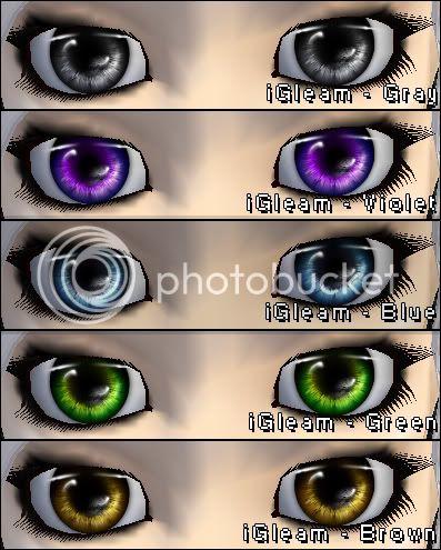 eyes on me :) IGleam