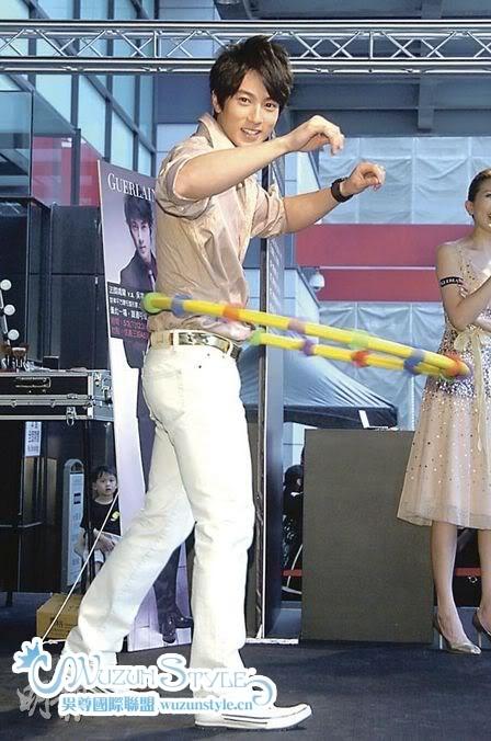 [08-05-04] Wu Zun Bears the pain to teach fans slim down 20080504_9601657c54ed099666745bAACY