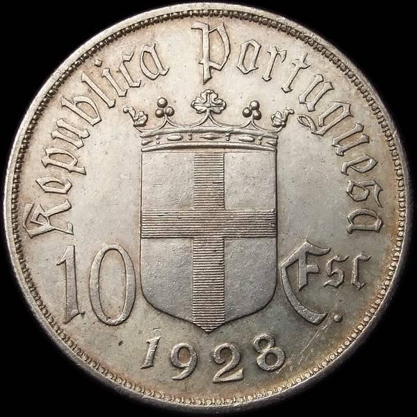 Portugal, 1 escudo, 1946. 01541a_600