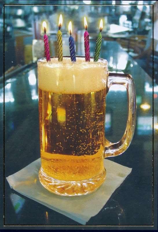 Happy Birthday, Charles Ingalls! (Gary) BeerMug-birthday