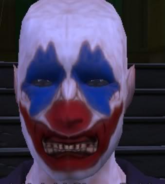 Dark Knight Clowns Clownhead