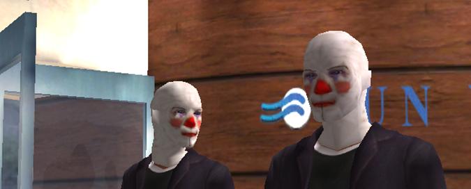 Dark Knight Clowns Clownmasks