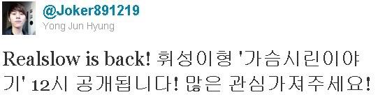 [TWITTER]Junhyung's post 1436