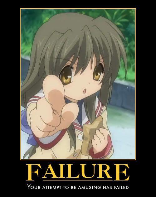 Motivate Me! 2009 Failure