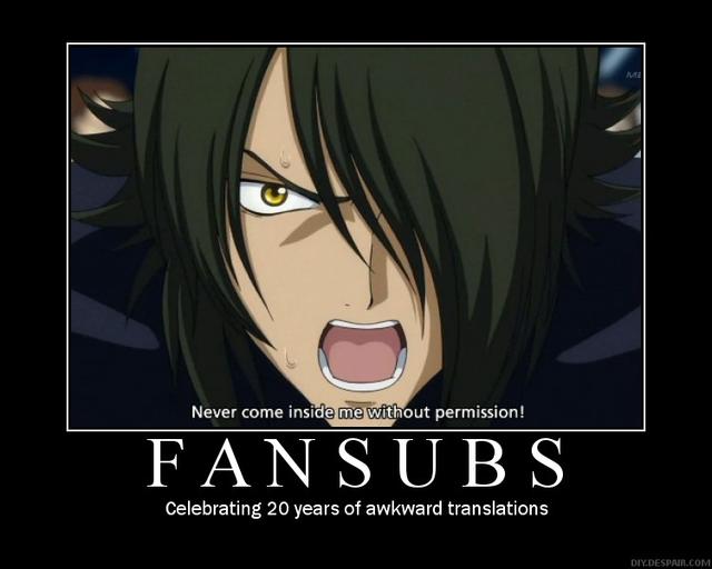 Motivate Me! 2009 Fansubs