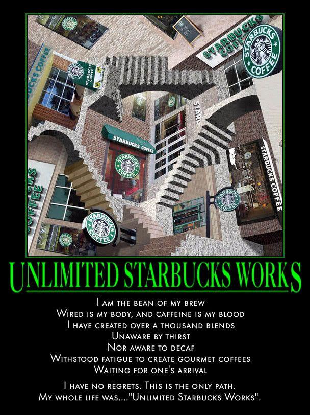 Motivate Me! 2009 UnlimitedStarbucksWorks