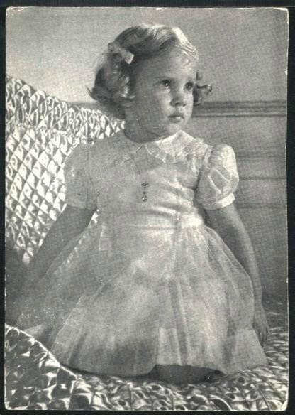 Ana-María de Dinamarca, reina de Grecia. D27